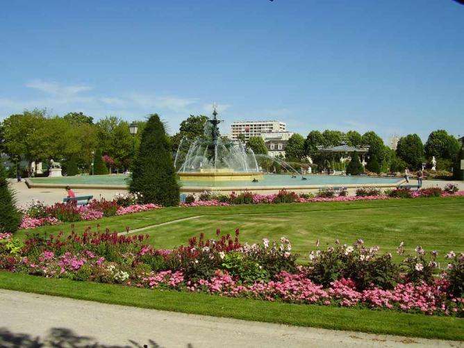 Fontaine du Mail, Angers | © Kamel15/WikiCommons