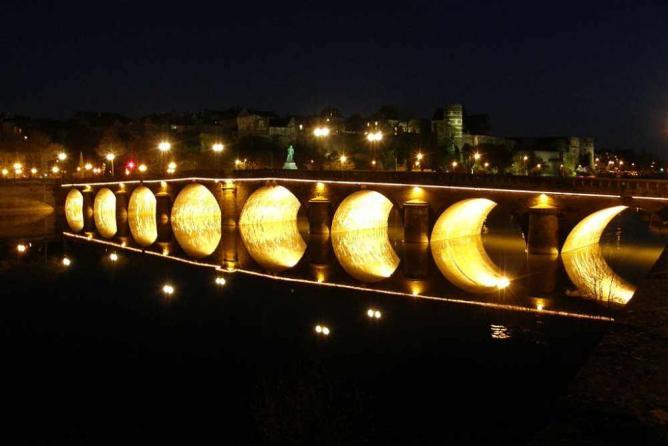 Pont sur Maine, Angers | © R. Mesu/WikiCommons