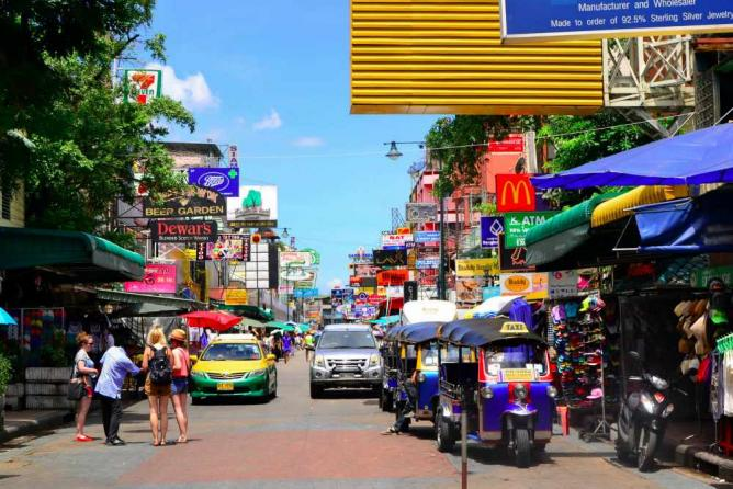 Khao San road | Courtesy of Olga Lenczewska