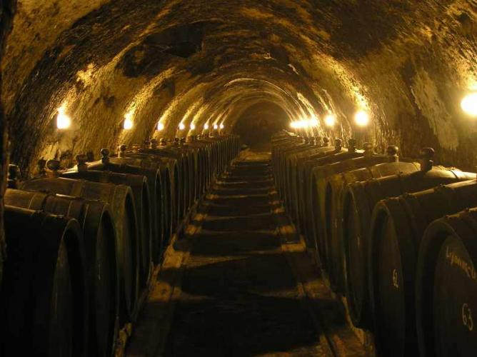 Cellar in Tokaj | © Legnaw/Wikicommons