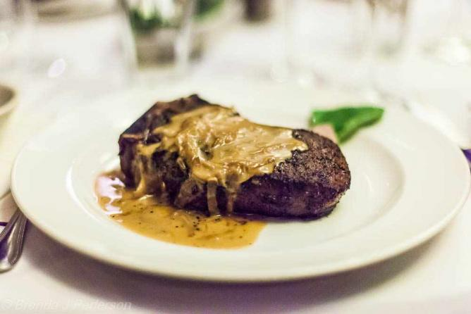 Sirloin with Shallot Butter Sauce