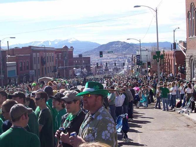 Saint Patrick's Day, Butte | © Cnw427/WikiCommons