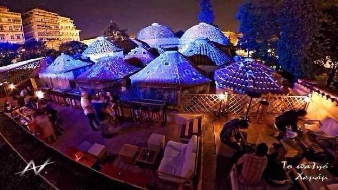 Palio Hamam's wonderful terrace, right next to the Turkish baths | Courtesy of To Palio Hamam