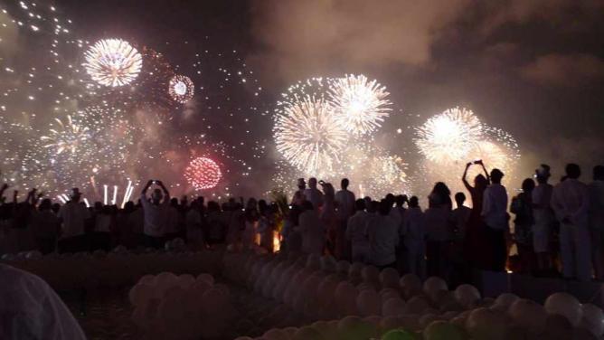 New Year's Eve, Copacabana