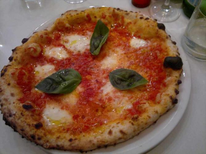 Italian-style pizza