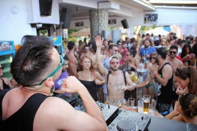Beach party at Chaplins   Courtesy of Chaplins Beach Bar