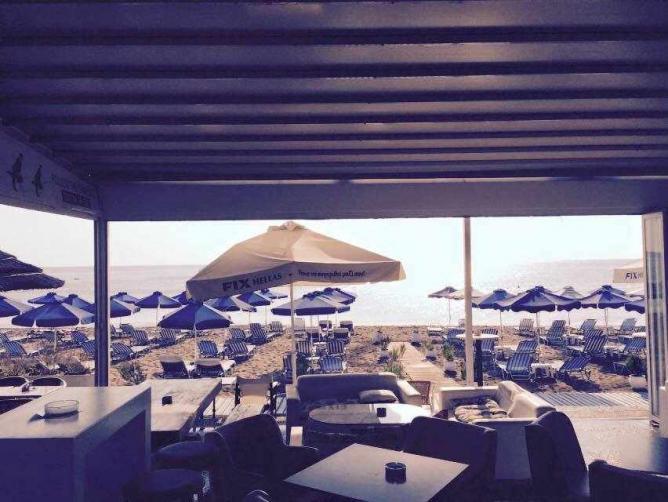 Chaplins view of the beach   Courtesy of Chaplins Beach Bar