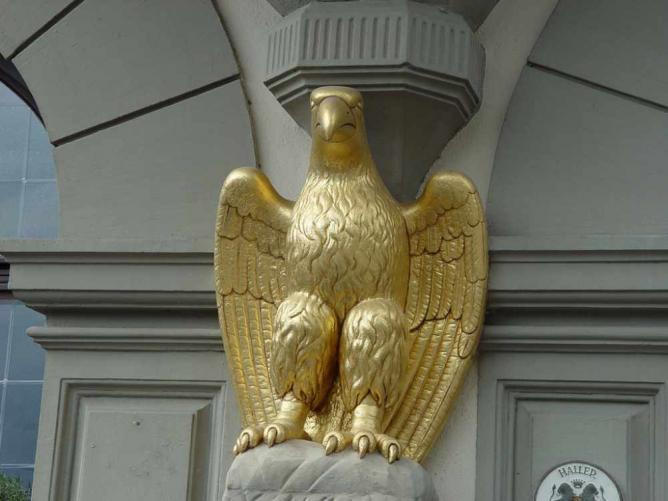 Schwäbisch Hall, Adler | © Konrad Schweizer/Flickr