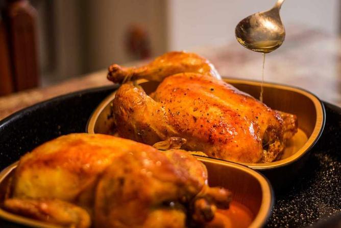 Roasted Chicken | © Marjan Lazarevski/Flickr