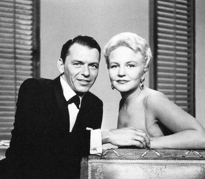 Peggy Lee with Frank Sinatra   © Kate Gabrielle/Flickr