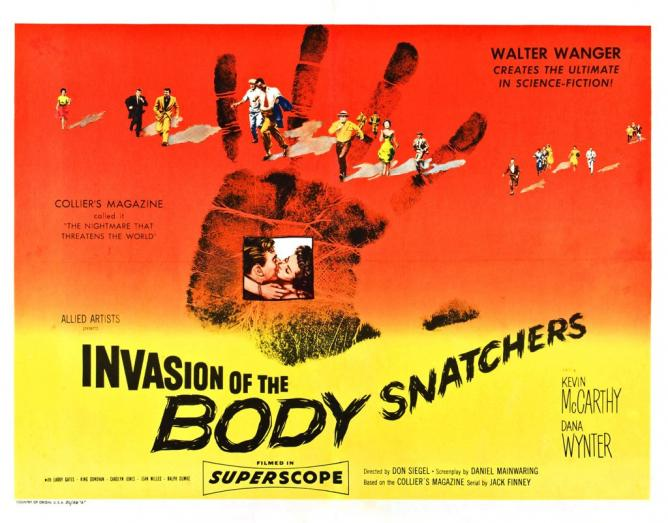 Poster for the original Invasion of the Body Snatchers (1956) | © Hannes Engelbrecht/Flickr