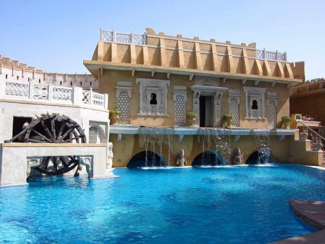 Pool at Ajit Bhawan, Jodhpur