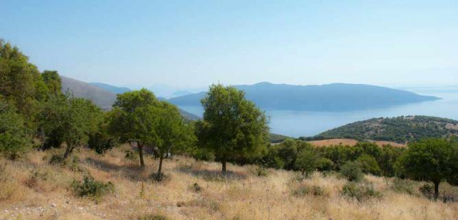 Countryside of Kefalonia