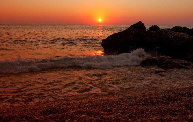 Kefalonian sunset