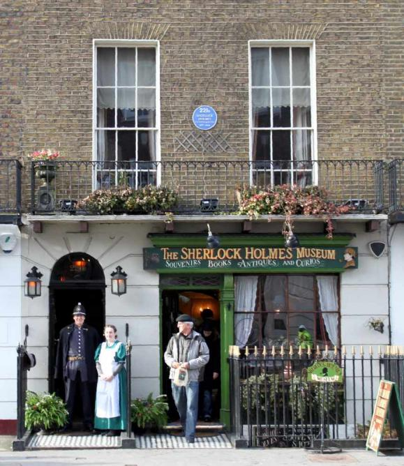 Sherlock Holmes Museum Exterior | © The Sherlock Holmes Museum