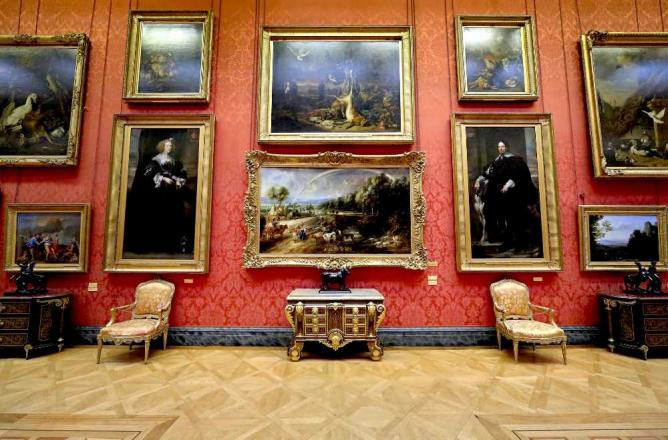 The Great Gallery in The Wallace Collection | © Musicartgeek/Wikicommons