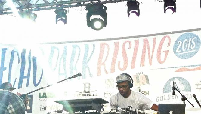 Echo Park Rising 2015 - J Rocc at Liberty Main Stage | ©SagaciousEyelashes