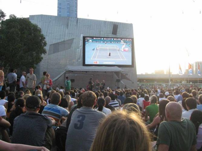 The big screen | © Marie/Flickr