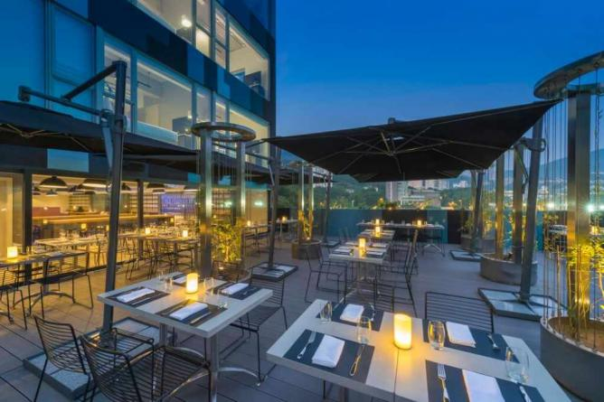 Terrace of Ovolo Southside | Courtesy of Ovolo Southside