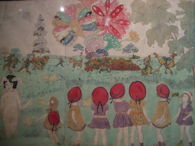 """A Beautiful Moment in Henry Darger's """"Vivian Girls"""""""
