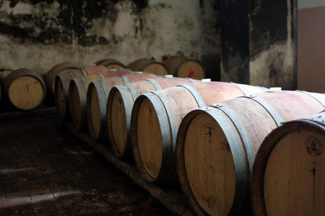 Wine barrels | © Christian Haugen/Flickr
