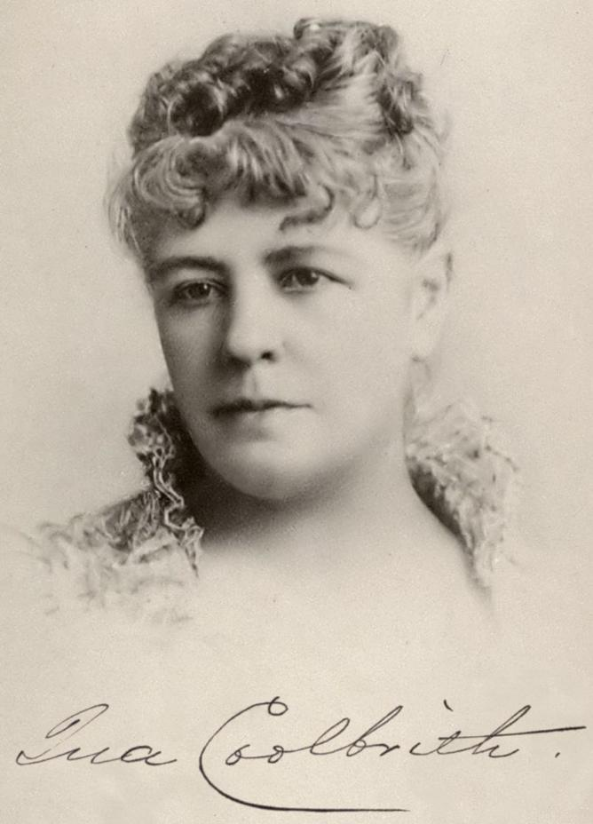 Ina Coolbrith portrait with signature | © Wikimedia Commons