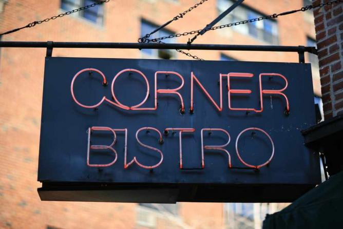 Corner Bistro | Courtesy of Corner Bistro