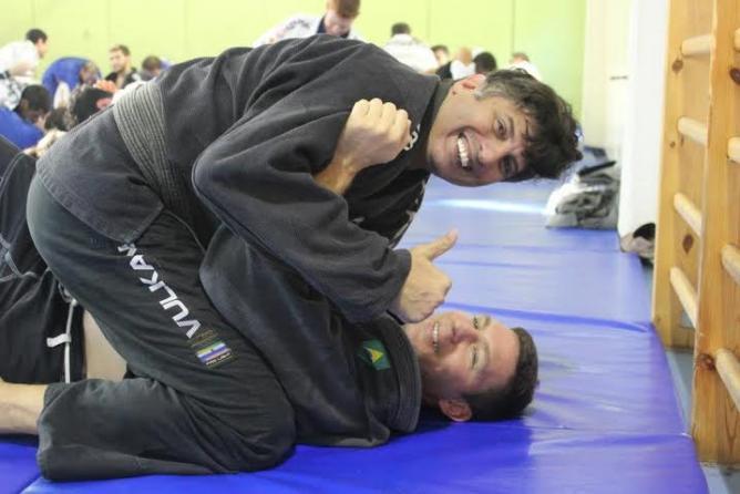 Black belts Lucas and Sami   © ZestyUrbanJiuJitsu