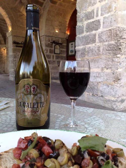 Bottle of Maltese Wine