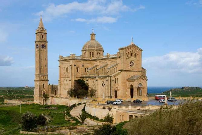 Image of Our Lady of Ta' Pinu Basilica