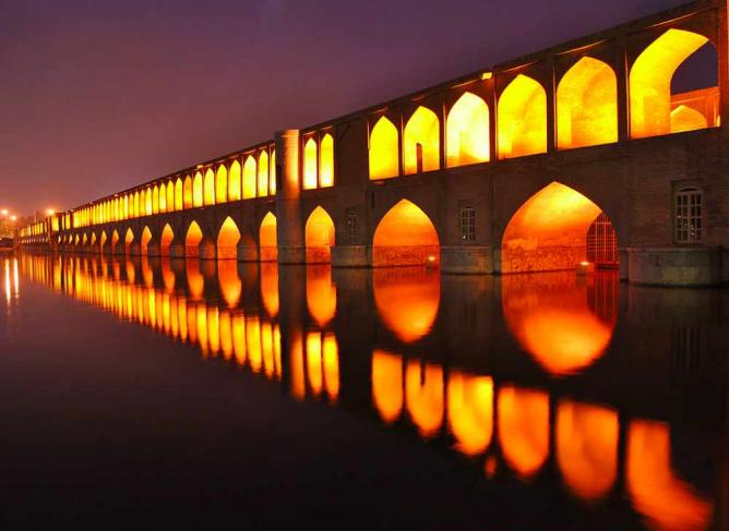 Si o Seh Bridge | ©Reza Haji-pour/Wikicommons