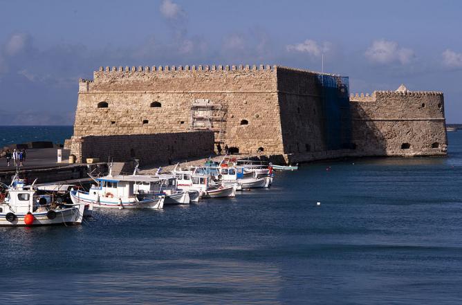Castello del Molo, Heraklion | © Georgios Giannopoulos/WikiCommons