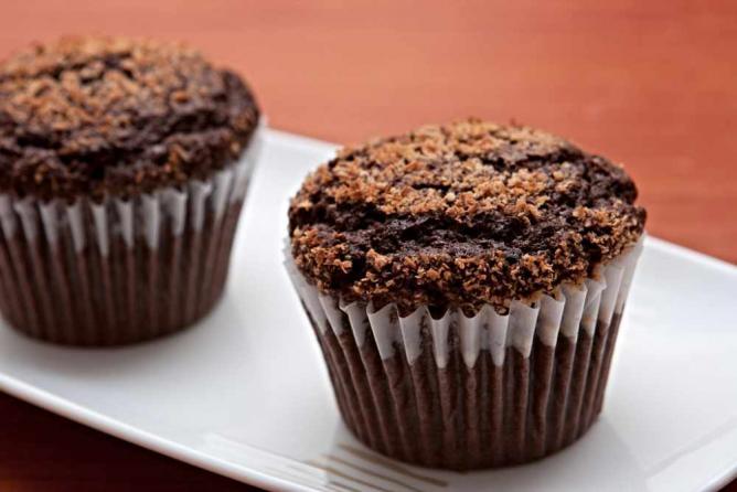 Cocoa & Coconut Muffins