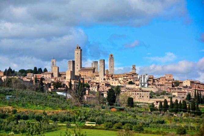 San Gimignano | ©AntonioCinotti/Flickr
