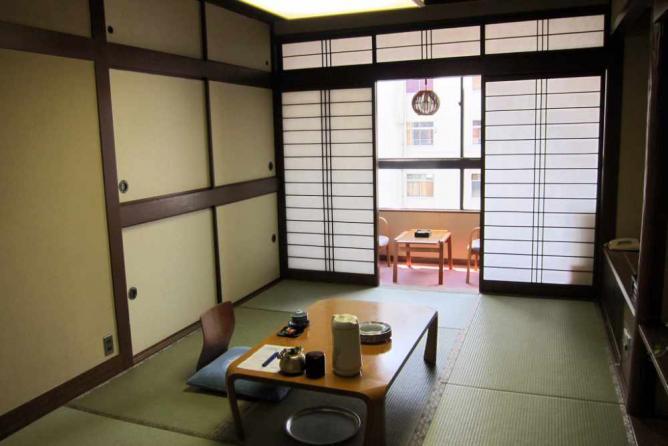 Room at Kaneyoshi Ryokan