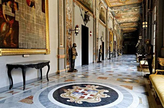 Inside the Grand Master's Palace
