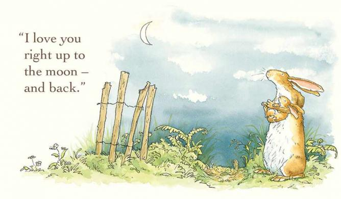 Illustration from Guess How Much I Love You | © Illustrated by Anita Jeram