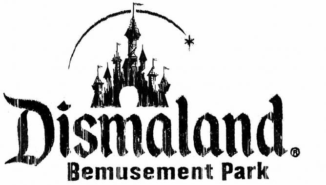 Logo for Banksy's Dismaland | © Banksy Dismaland