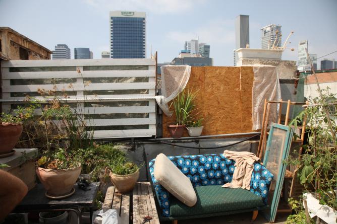 Rooftop Garden, Bar Kayma | © Daniel Fainberg