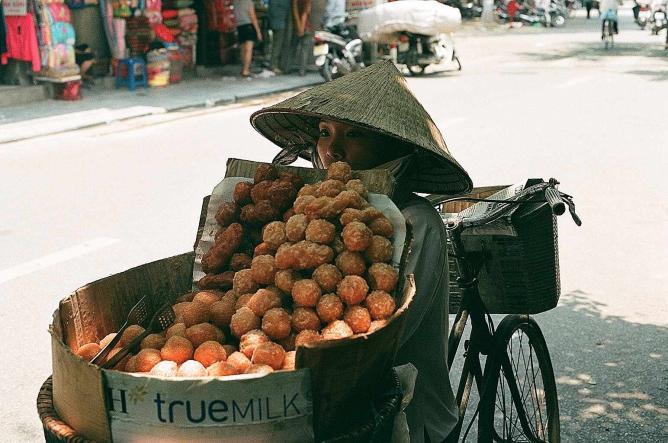 Street Vendor   © Margarita Milne