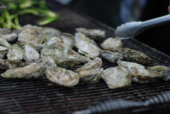 Grilled Oysters from Woodberry Kitchen | © kslee/Flickr