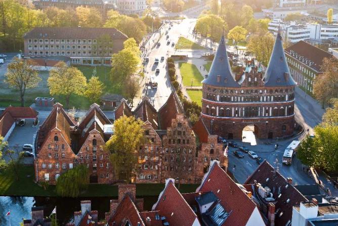 View over Lubeck ©ArneList/WikiCommons