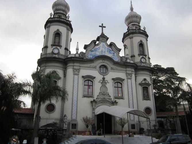 Igreja Nossa Senhora Do Brasil © edsonaoki/WikiCommons