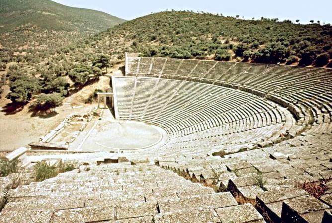 The theater at Epidarus | ©Serendigity/Flickr