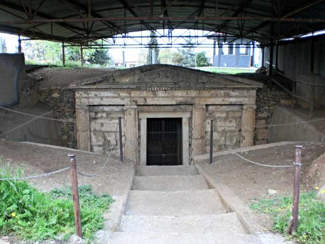 Macedonian Tomb at Aigai