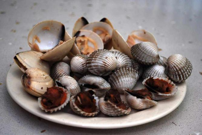 Cooked - Blood Cockles and Clams | © Alpha/Flickr