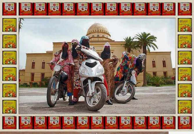 Hassan Hajjaj, Kesh Angels | © Taymour Grahne Gallery and the Artist