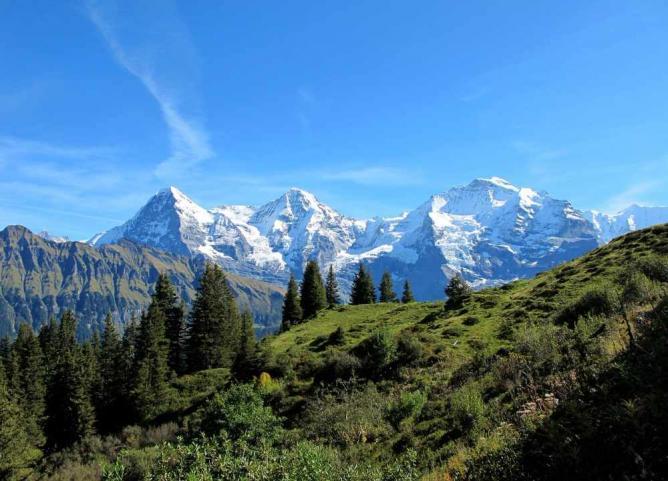 Mount Eiger   © Estellina/Pixabay