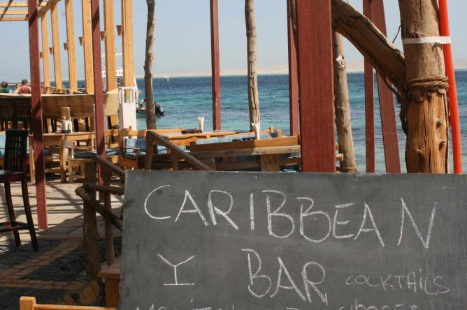 View of the sea | Courtesy of the Caribbean Bar