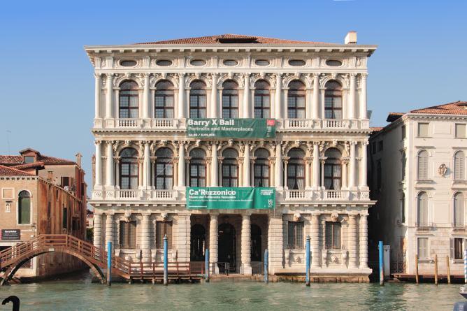 Facciata sul Canal Grande Venezia, Ca' Rezzonico - Museo del Settecento Veneziano © Fondazione Musei Civici di Venezia